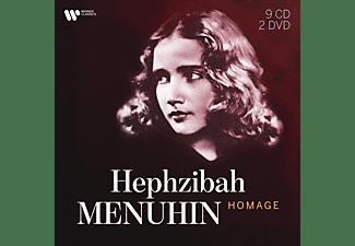 Hephzibah Menuhin - HEPHZIBAH MENUHIN HOMAGE  - (CD + DVD Video)