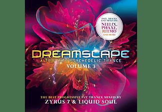 Mixed By Zyrus 7 & Liquid Soul - Dreamscape Vol.3  - (CD)