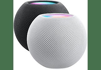 Apple HomePod mini, Altavoz inteligente, Siri, Altavoz 360º, Bluetooth, Wi-Fi, Blanco, Domótica