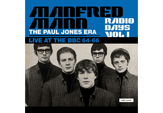 Manfred Mann, Paul Jones - Radio Days Vol.1  - (CD)
