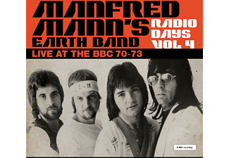 Manfred Mann's Earth Band - Radio Days Vol.4  - (CD)