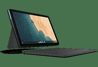 LENOVO Chromebook IdeaPad Duet, MediaTek P60T, 4GB, 128GB, 10.1 Zoll Touch FHD, Blau/Grau