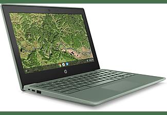 "Portátil - HP Chromebook 11A G8 EE, 11.6"" HD, AMD A4-9120C, 4 GB, 32 GB eMMC, R4 Graphics, Chrome OS, Verde"