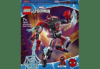 LEGO Miles Morales Mech Minifigur, Mehrfarbig