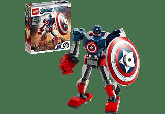 LEGO Captain America Mech Minifigur, Mehrfarbig