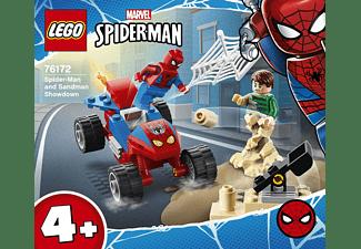 LEGO Das Duell von Spider-Man und Sandman Spielset, Mehrfarbig