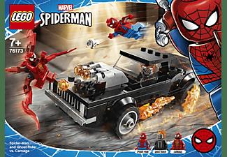 LEGO Spider-Man und Ghost Rider vs. Carnage Minifiguren, Mehrfarbig