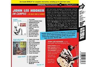 John Lee Hooker - ON CAMPUS / THE GREAT JOHN LEE HOOKER  - (CD)