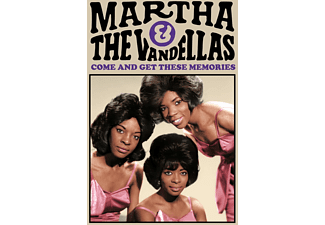 Martha & The Vandellas - COM AND GET THESE MEMORIES  - (CD)