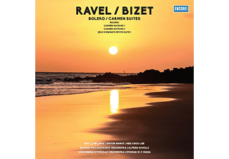 Slovak Philharmonic Orchestra, Nüremberg Philharm - BOLERO/CARMEN SUITES (180G VINYL)  - (Vinyl)