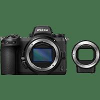 NIKON Z7 II Gehäuse + FTZ Adapter Systemkamera, 8 cm Display Touchscreen, WLAN
