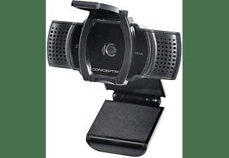 CONCEPTRONIC AMDIS02B 2K Super HD Autofocus mit Mikrofon Webcam