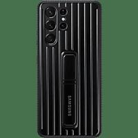 SAMSUNG Protective Standing Cover für Galaxy S21 Ultra, Schwarz