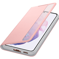SAMSUNG Clear View Cover für Galaxy S21, Pink