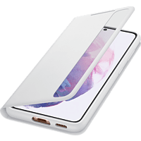 SAMSUNG Clear View Cover für Galaxy S21, Hellgrau
