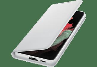 SAMSUNG LED View Cover für Galaxy S21 Ultra, Hellgrau