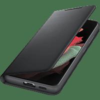 SAMSUNG LED View Cover für Galaxy S21 Ultra, Schwarz