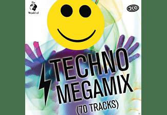 VARIOUS - Techno Megamix (65 Tracks)  - (CD)