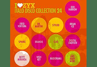 VARIOUS - ZYX Italo Disco Collection 24  - (CD)
