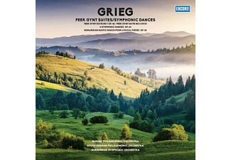 Slovak Philharmonic Orchestra, South German Philharmonic Orchestra - PEER GYNT SUTIES/SYMPHONIC DANCES (180G VINYL)  - (Vinyl)