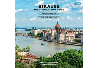 Vienna Volksoper Orchestra, Vienna Opera Orchestra - FAMOUS WALTZES FROM VIENNA (180G VINYL)  - (Vinyl)