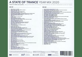 Armin Van Buuren - A STATE OF TRANCE YEAR MIX 2020  - (CD)