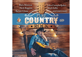 CHASE, KEVIN - RIGGINS, NICK - MONROE, RICK - PURE COUNTRY ROCK  - (CD)