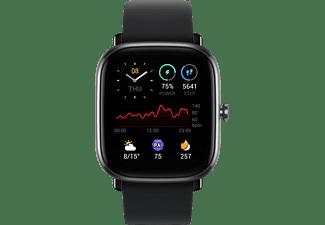 AMAZFIT A2018 GTS 2 mini, Smartwatch, 120 mm + 85 mm, Midnight Black