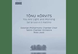Estonian Phil.Chamber Choir Tallinn, Joost Risto - You Are Light And Morning  - (CD)
