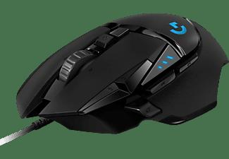 LOGITECH G502 HERO Gaming Maus, Schwarz