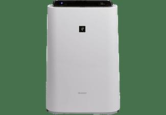 SHARP KCD60EUW MIT BEFEUCHTUNGSFUNKT. Luftreiniger mit Befeuchtungsfunktion Weiß (80 Watt, Raumgröße: 48 m², HEPA-Filter, Desodorierungsfilter, Luftbefeuchtungsfilter)