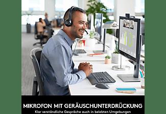 LOGITECH H390, On-ear Headset Schwarz