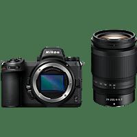 NIKON Z 6II Kit + FTZ Adapter Systemkamera mit Objektiv 24-200 mm, 8 cm Display Touchscreen, WLAN