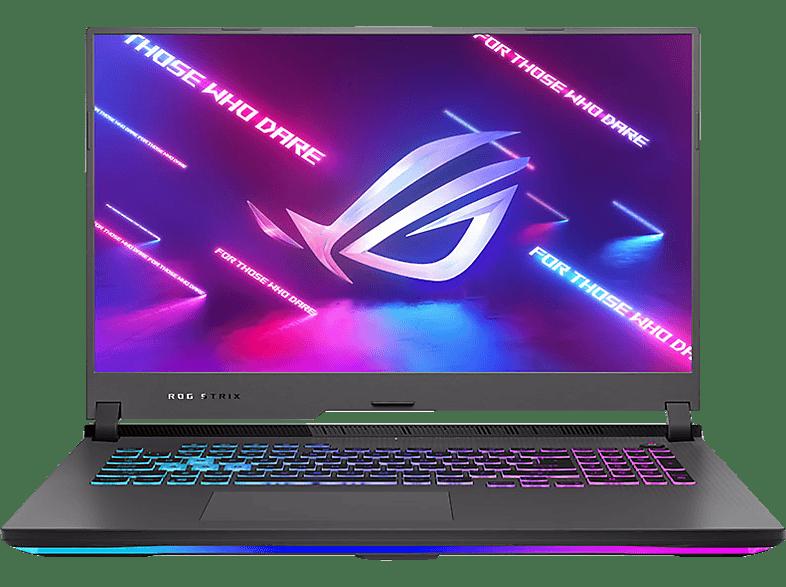 ASUS ROG Strix G17 G713QR-HG106T, Gaming Notebook mit 17,3 Zoll Display, AMD Ryzen 9 Prozessor, 16 GB RAM, 1 TB SSD, GeForceRTX 3070, Eclipse Gray