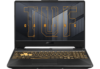 ASUS TUF Gaming A15 FA506QR-HN006T, Gaming NoteBook mit 15,6 Zoll Display, Ryzen 7 Prozessor, 16 GB RAM, 512 GB SSD, NVIDIA®GeForceRTX™3070, Eclipse Gray