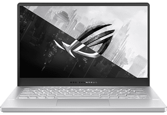 ASUS ROG Zephyrus G14 GA401QM-K2043T, Gaming Notebook mit 14,0 Zoll Display, Ryzen 9 Prozessor, 32 GB RAM, 1 TB SSD, GeForce RTX™ 3060, Moonlight White AniMe Matrix version