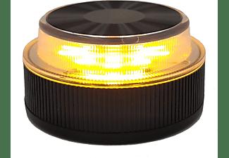 Luz emergencia - NK SOS Road, Para vehículos, 9 LED, 360º, IP54, V16, Imán Neodimio, Negro