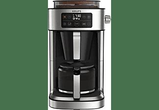 KRUPS KM760D Aroma Partner Kaffeemaschine Schwarz/Edelstahl-Applikationen