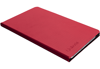 "Funda tablet - Silver Sanz Silver HT BookCase Wave, Para Samsung Galaxy Tab A7 2020 10.4"", Transporte, Rojo"