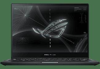ASUS ROG Flow X13 GV301QH-K6034T, Gaming NoteBook mit 13,4 Zoll Display Touchscreen, AMD Ryzen™ 7 Prozessor, 16 GB RAM, 512 GB SSD, NVIDIA® GeForce® GTX 1650, Off Black