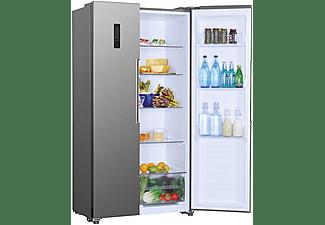 Frigorífico americano - Candy CHSBSV 5172XN, 436 l, No Frost, Super Congelación, Función Eco, LED, 43 dB, Inox