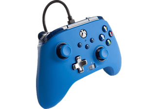 POWER A XBX Wired Controller Blue Controller Blau