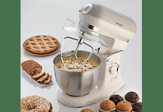 Robot de cocina - Ariete 1588 Vintage Crema, 2400 W, 5.5 l, 7 Velocidades, Beige