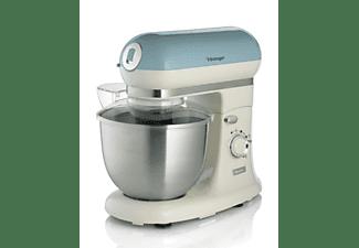 Robot de cocina - Ariete 1588 Vintage, 2400 W, 5.5 l, 7 Velocidades, Azul
