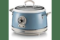 Arrocera - Ariete Vintage 2904/05, 700 W, 3.5 l, Cerámica, 5 Funciones, Antiadherente, Azul