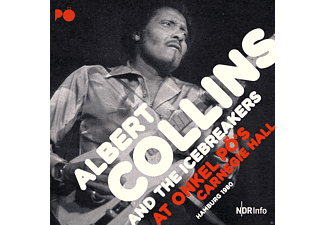 Albert Collins & The Icebreakers - At Onkel PÖ's Carnegie Hall Hamburg 1980  - (Vinyl)