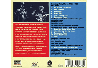 John Mayall & The Bluesbreakers - European Union (Live In The UK And Germany)  - (CD)
