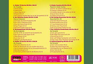 VARIOUS - Der Große Kinderlieder Hitmix-40 Coole Hits  - (CD)