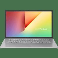ASUS VivoBook S712JA-BX284T, NoteBook mit 17,3 Zoll Display, Intel® Core™ i3 Prozessor, 8 GB RAM, 512 GB SSD, Intel® UHD Graphics, Transparent Silver