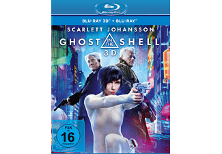 Ghost in the Shell 3D Blu-ray (+2D)